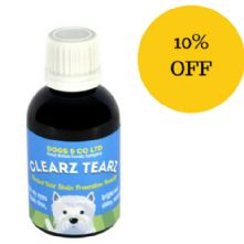 Clearz Tearz Herbal Tear Stain Prevention for Dogs
